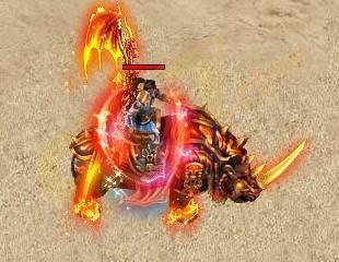 烈火战神坐骑系统