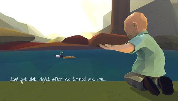 父亲将儿子与病魔抗争经历设计成游戏