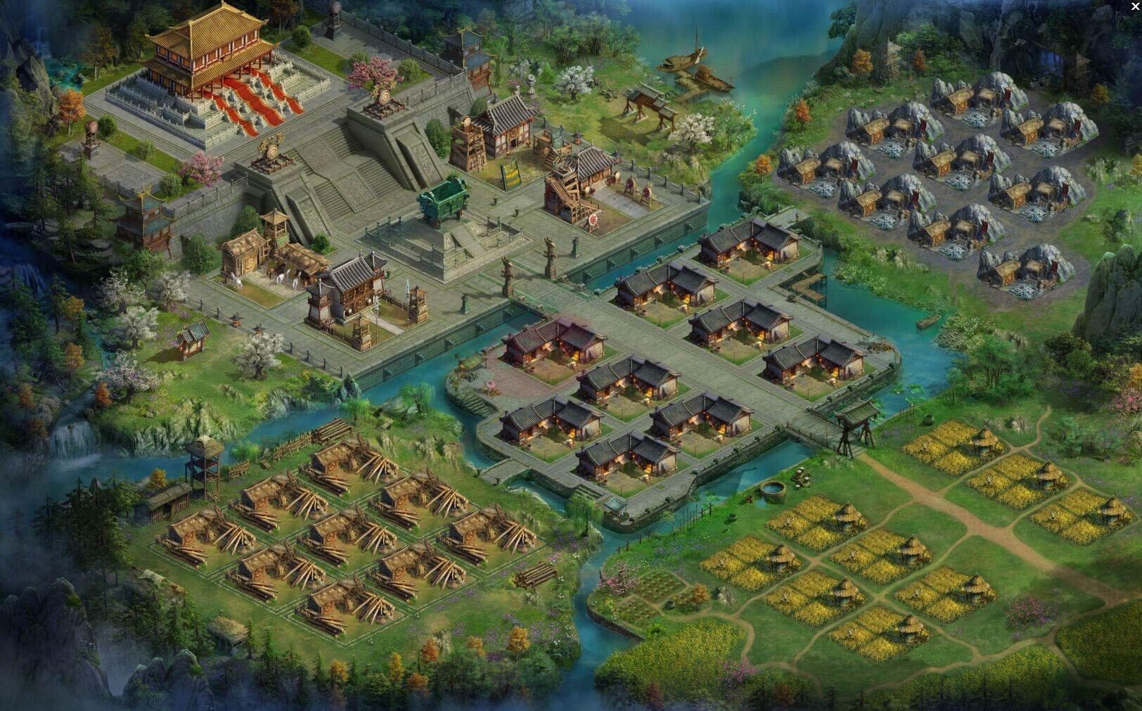 三国群雄传主城系统玩法详解