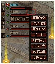传奇荣耀组队系统
