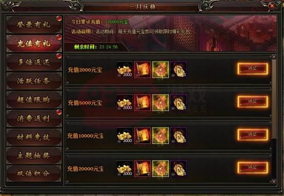 9377战神风云三月庆典