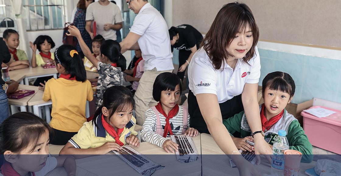 芭莎·课后一小时   9377游戏&芭莎·课后一小时走进广西油沐中心小学公益活动回顾