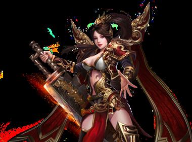 9377龙皇传说战士女